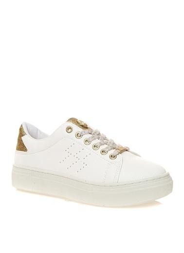Divarese Divarese Kadın Deri Beyaz Koşu Ayakkabısı Beyaz